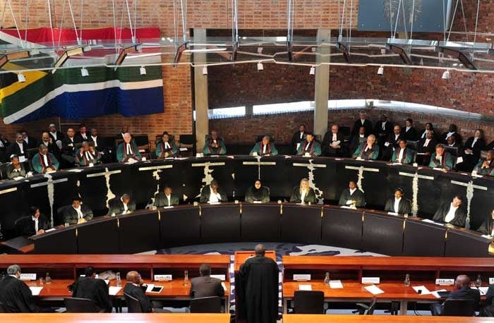 Constitutional Court justices.  Picture: Tracy Lee Stark